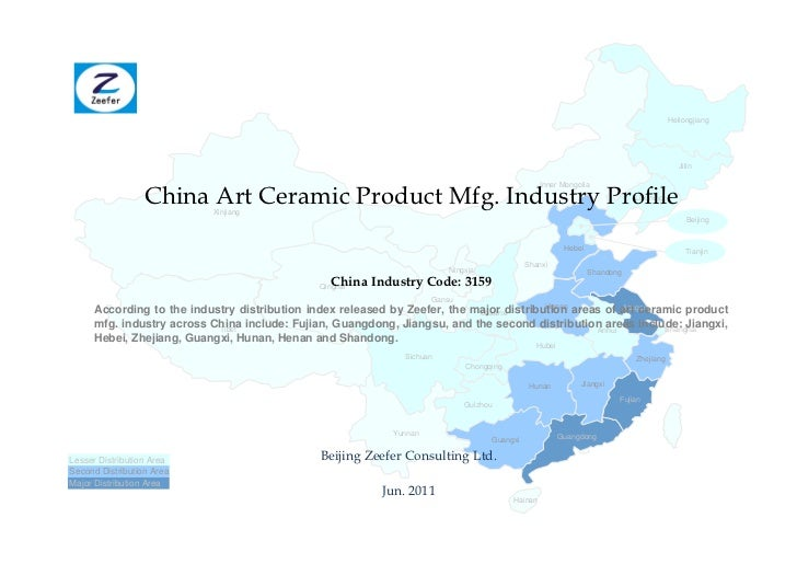 China art ceramic product mfg. industry profile cic3159   sample pages