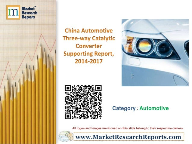 China Automotive Three-way Catalytic Converter Supporting Report, 2014-2017