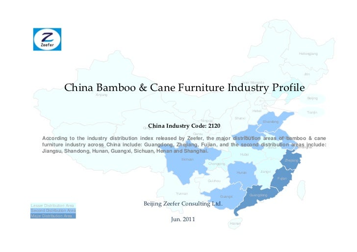 China bamboo cane furniture industry profile cic2120   sample pages