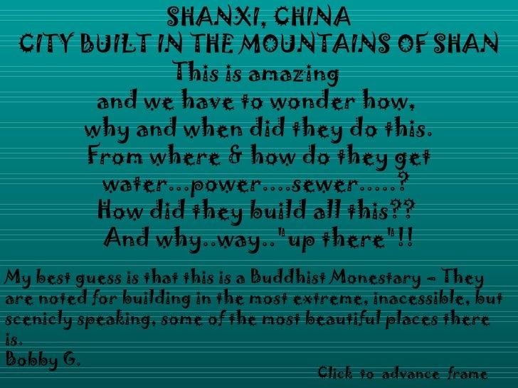 Chinacityinthemountains