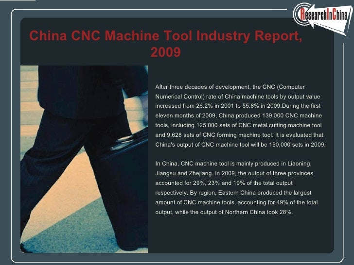 <ul><li>After three decades of development, the CNC (Computer  </li></ul><ul><li>Numerical Control) rate of China machine ...