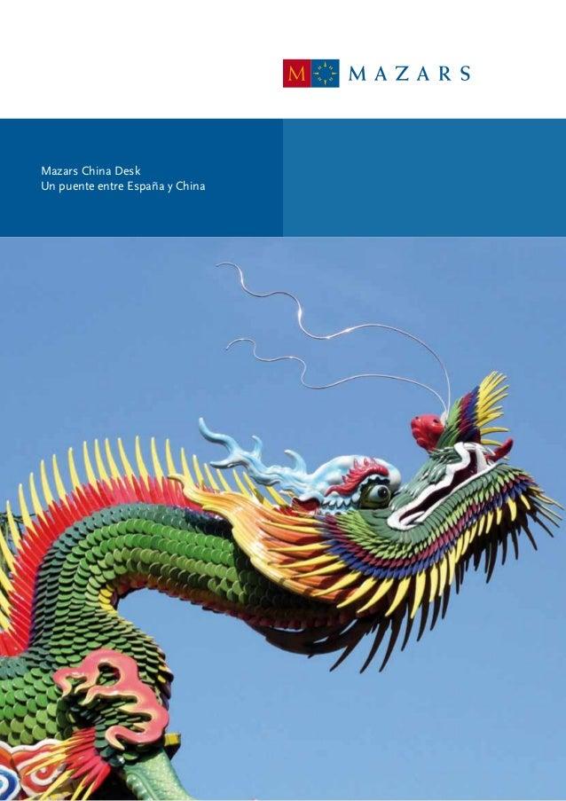 Mazars China DeskUn puente entre España y China