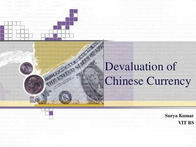 monetary devaluation essay
