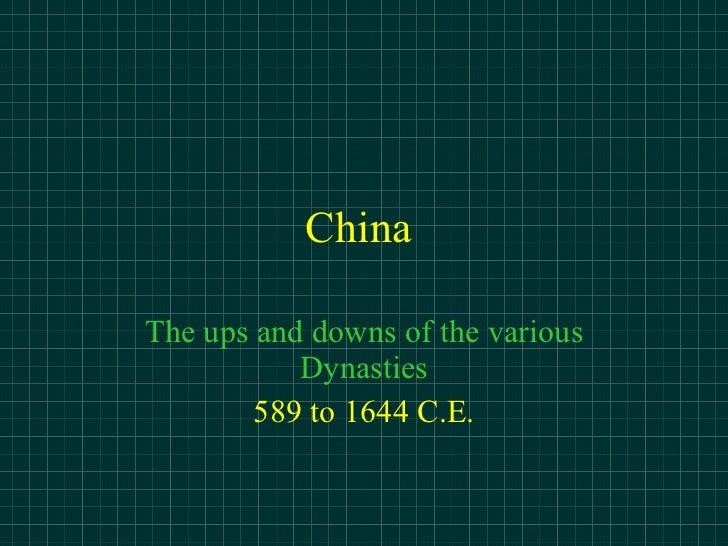 China Dynasty
