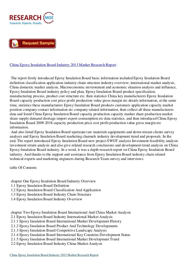 research report on stock market