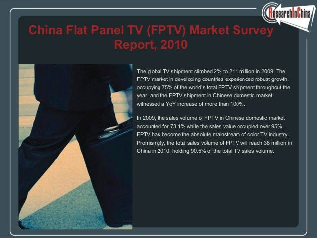 The global TV shipment climbed 2% to 211 million in 2009. The FPTV market in developing countries experienced robust growt...