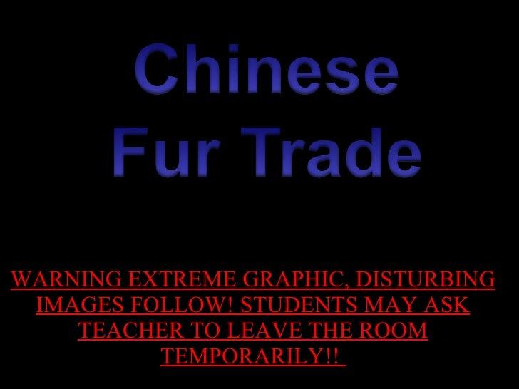China Fur Trade Psa