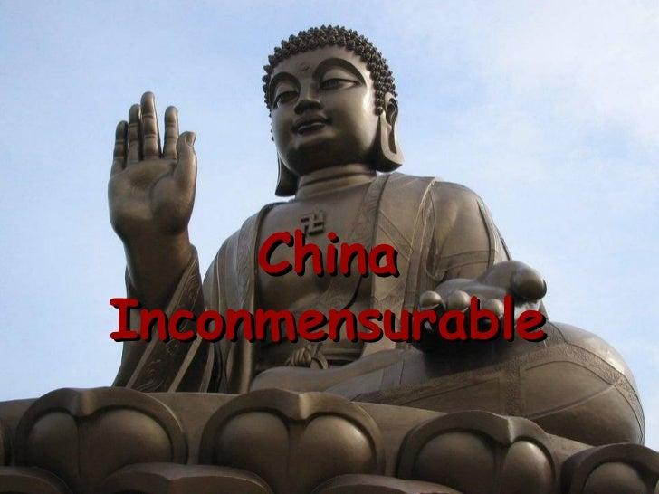 China Inconmensurable (Mmb