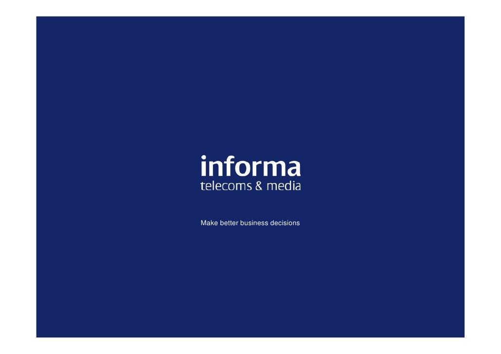 Charles Moon - Informa - Ericsson Business Innovation Forum 2010 - China