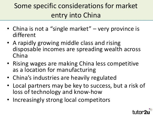 strategies to entry china manufacturing market essay Doing business in germany market overview market entry strategy successful market strategies take into account regional differences as part of a strong.