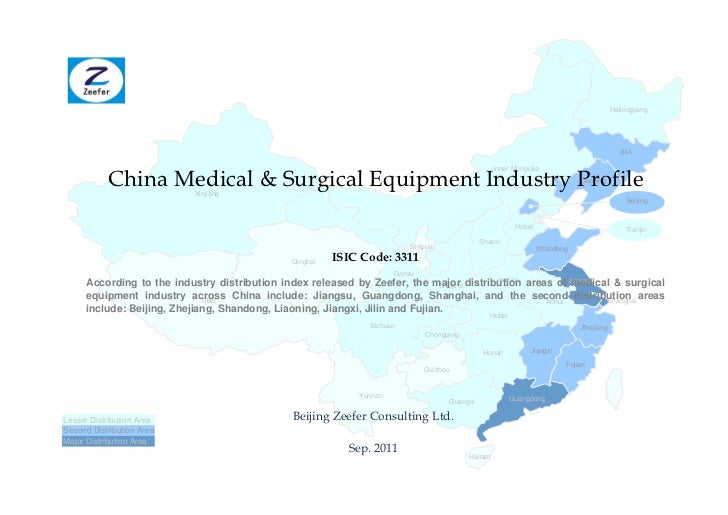 China medical surgical equipment industry profile isic3311   sample pages