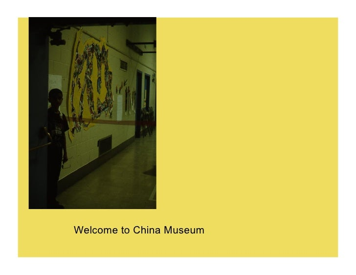 Welcome to China Museum