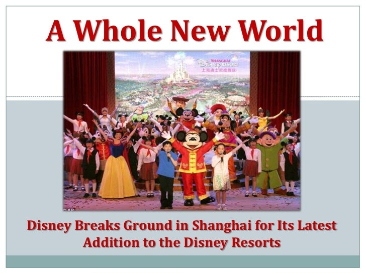 International Marketing Plan for Disney\'s Expansion into Shanghai