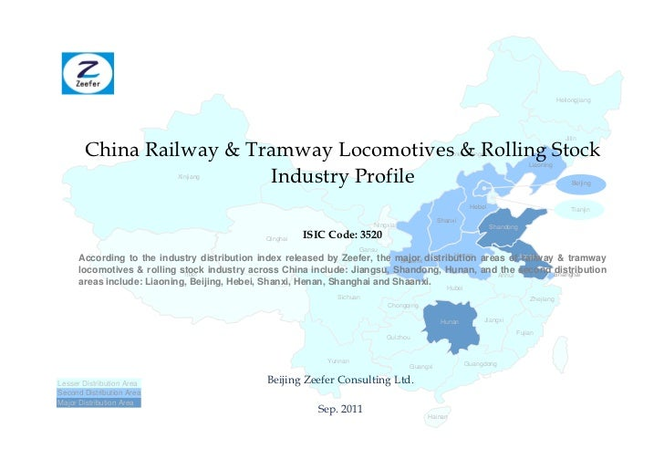 China railway tramway locomotives rolling stock industry profile isic3520   sample pages