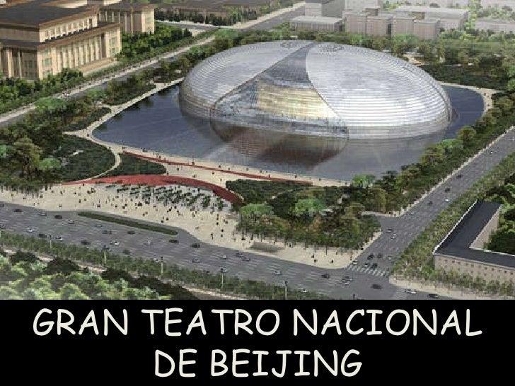 China teatro nacional de beijing