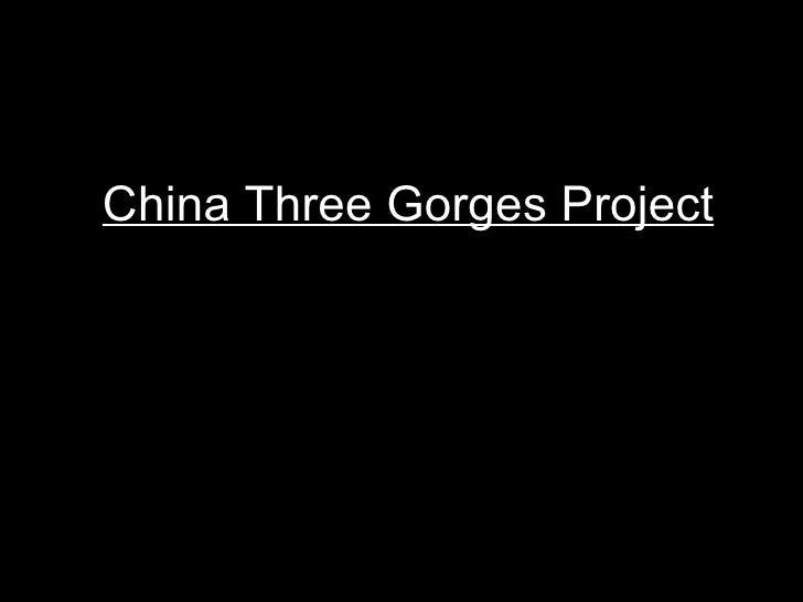 China Three Gorges Project