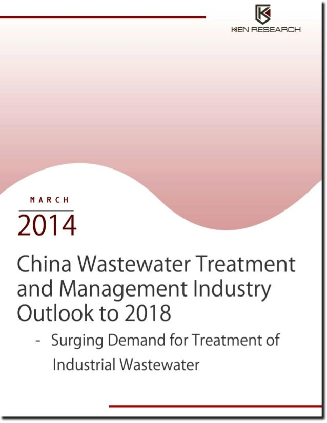 China wastewater treatment and mangement industry