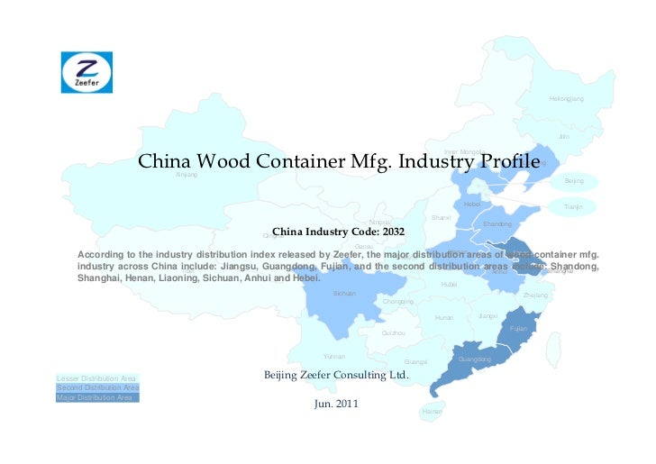 China wood container mfg. industry profile cic2032   sample pages