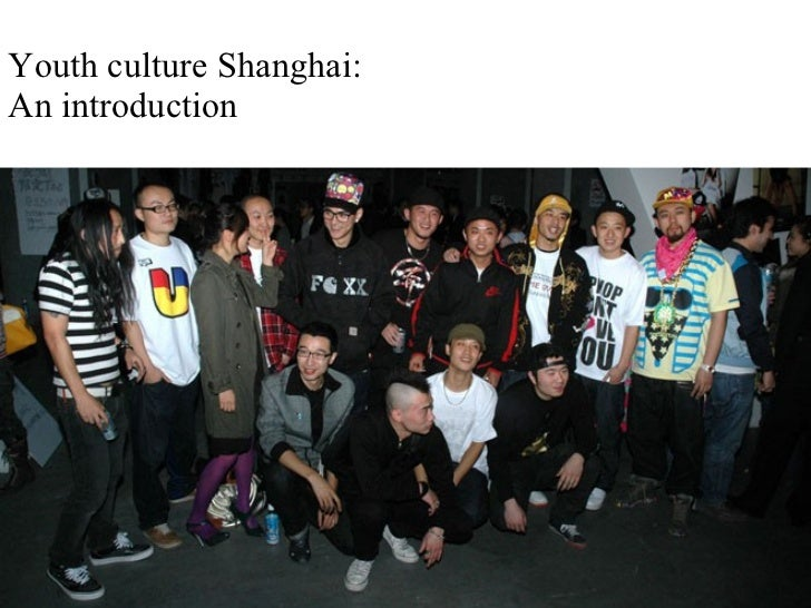 Chinese Youth Culture For V&A Global Cities Series May 2008