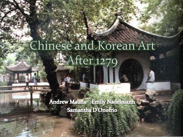 Chinese And Korean Art After 1279 Emily Andrew Sam
