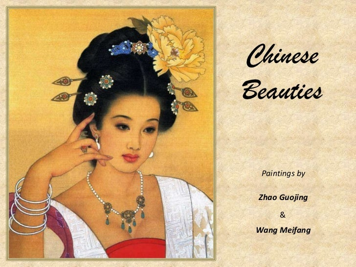 Chinese Beauties<br />Paintings by<br />Zhao Guojing<br />&<br />Wang Meifang<br />