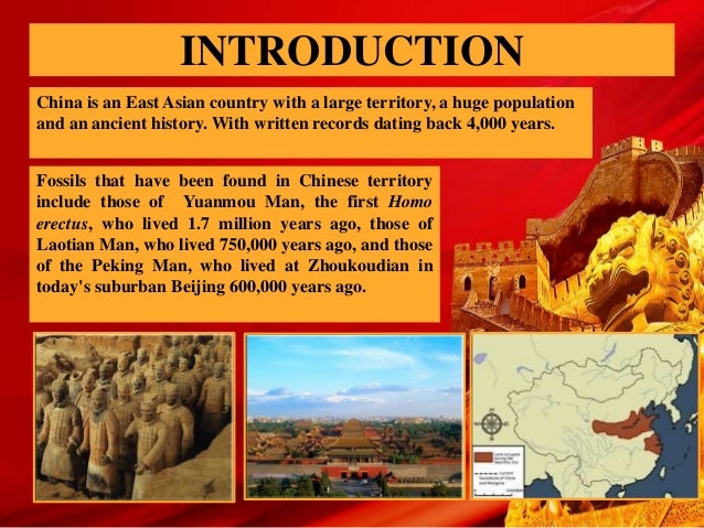 an introduction to the western influence in china Culture difference between china and western   express the taste sensibility and make an introduction of  the influence of chinese and western culture.