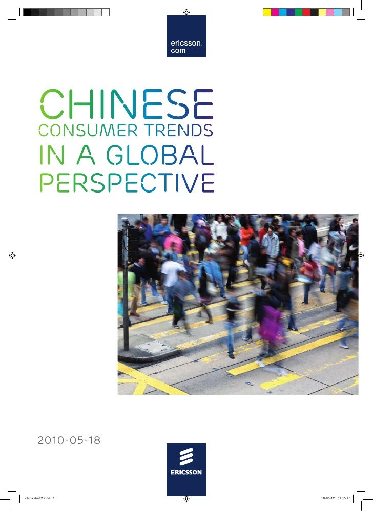 Chinese consumer trends in a global perspective - Ericsson
