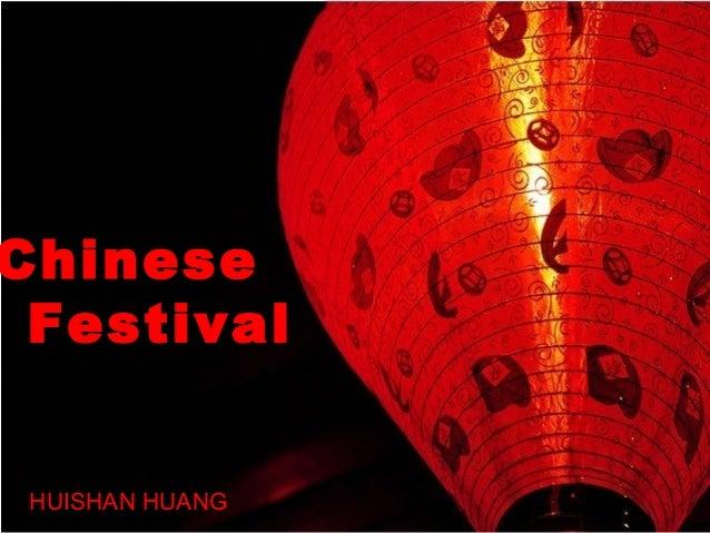 Chinese Festival HUISHAN HUANG
