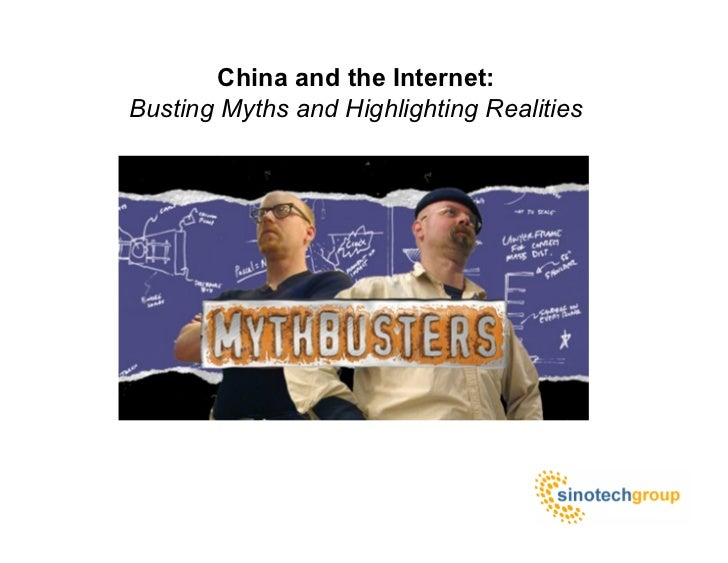 China and the Internet: Busting Myths and Highlighting Realities