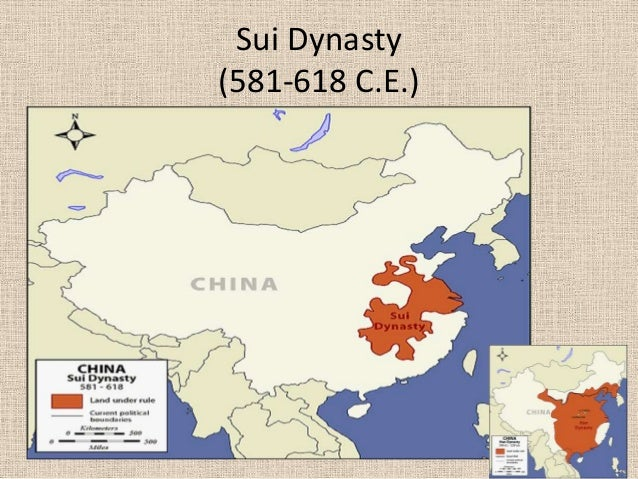 sui dynasty essay Started from 581 and ended in 618, the sui dynasty had only three emperors the whole nation was reunified and certain economic and political advances were achieved in the period.