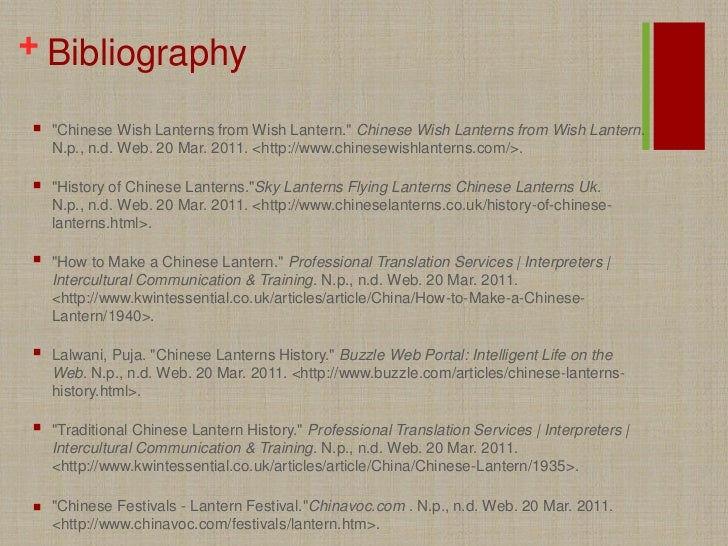 bibliography for china