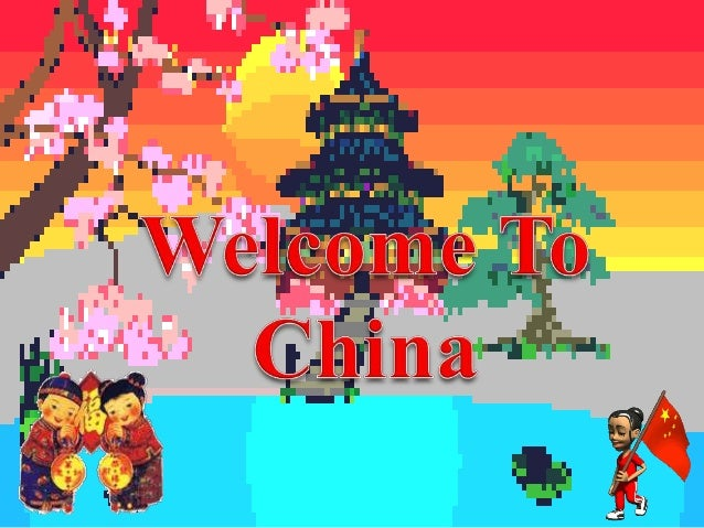 WELCOME TO CHINA !!!