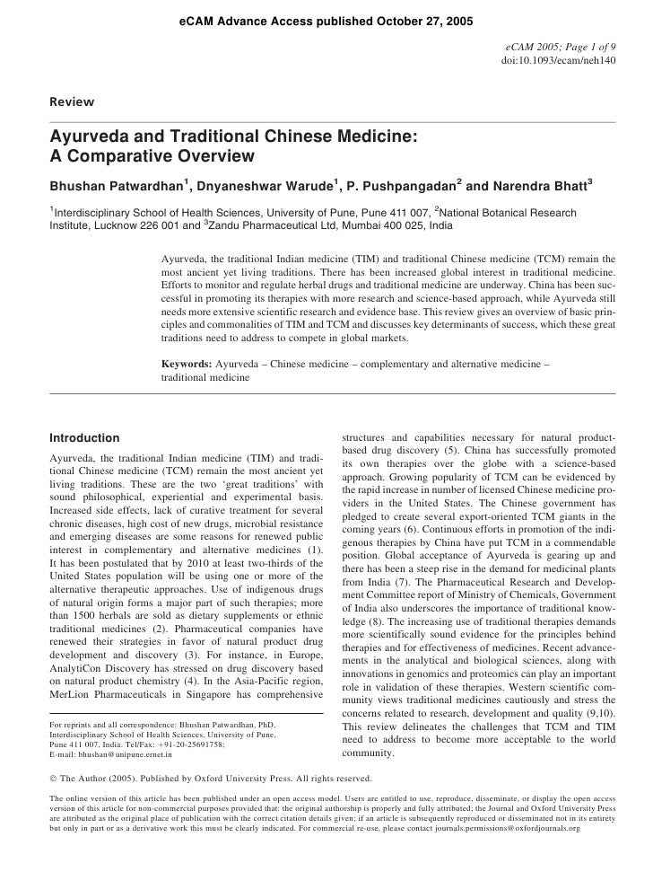 eCAM Advance Access published October 27, 2005                                                                            ...