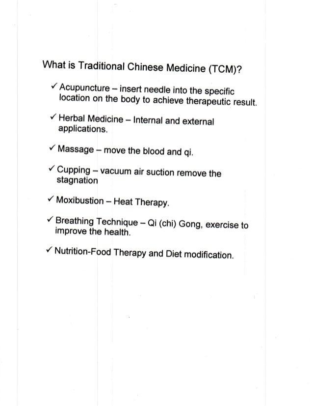 Chinese Medicine - Acupuncture
