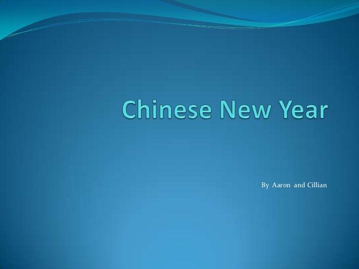 Chinese new year-Aaron & Cillian