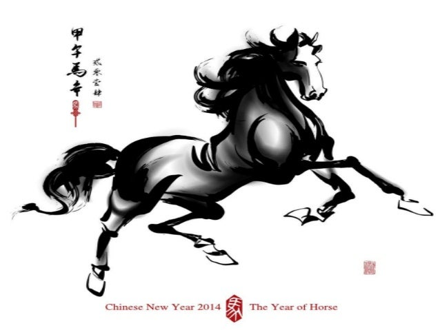 Chinese New Year 2014 - Year of The Horse