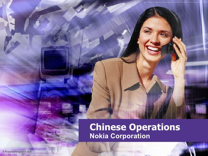 Chinese Operations Nokia Corporation