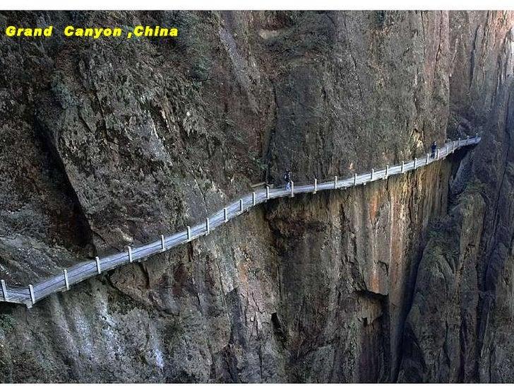 Musical Grand  Canyon ,China