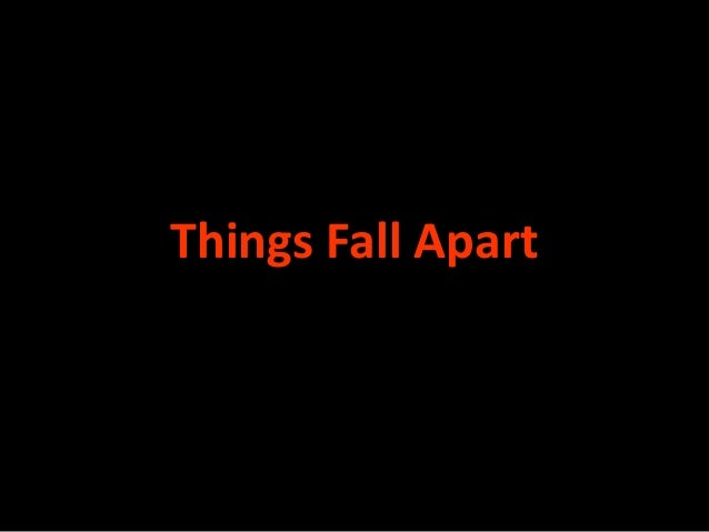 Things Fall Apart Chinua Achebe?