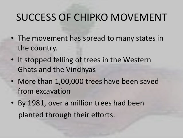 Essay on chipko movement