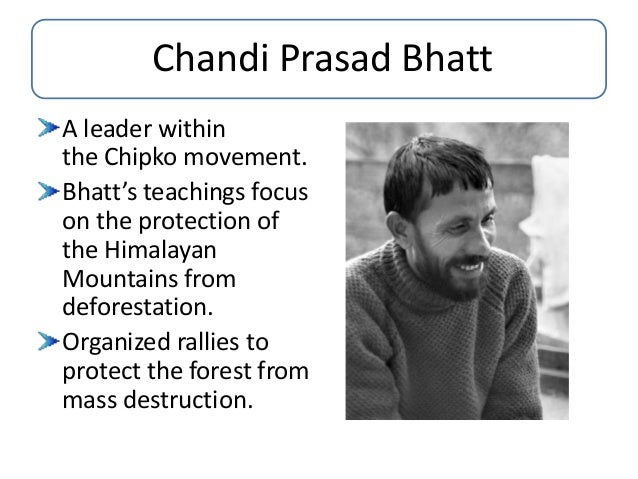 chipko movement essays Essays & papers chipco movement in india - paper example chipco movement in india chipko movement, started in 1970's, was a non violent movement aimed at protection and conservation of trees and forests from being destroyed - chipco movement in india introduction.