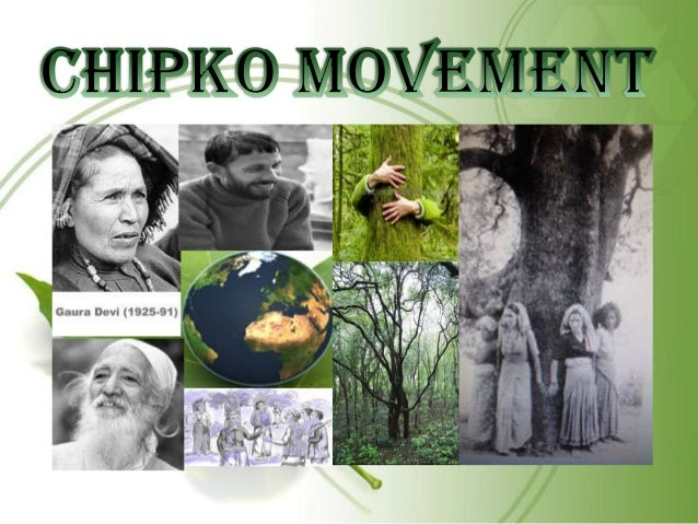 What is Chipko movement? In the 1970s, an organized resistance to the destruction of forests spread throughout