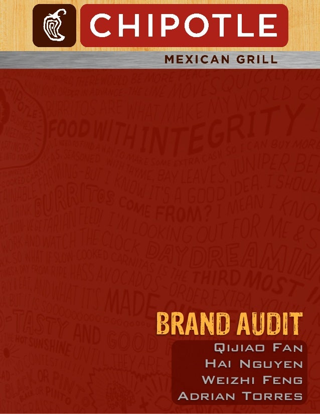 Chipotle brand audit paper [final copy]