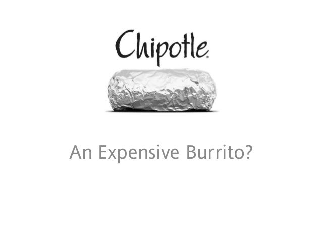 Chipotle Equity Analysis_An Expensive Burrito?