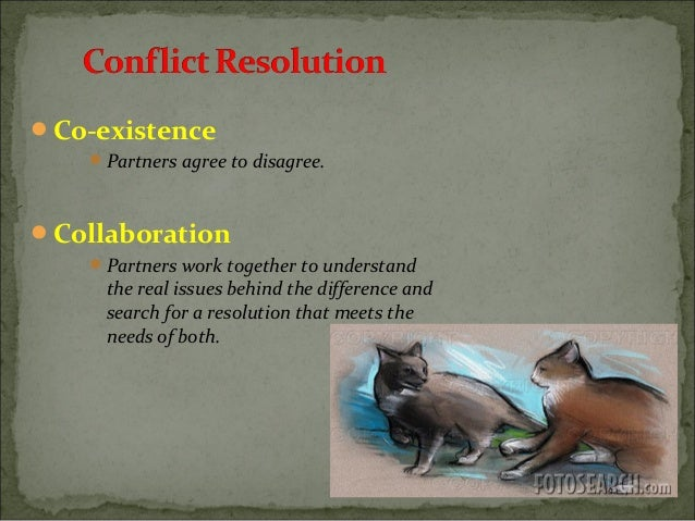 conflict resolution case studies school The role of religion in conflict resolution: a case study source: (2000) paper presented at the just peace peace making and peace building for the new millennium.