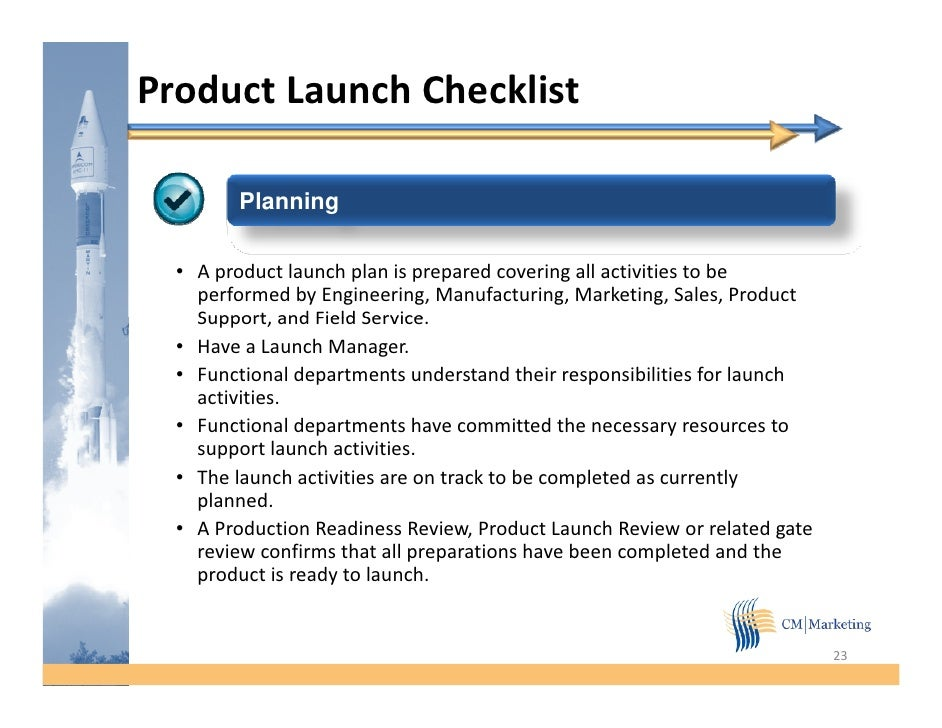 proposal to launch a new product Products & services research and consulting pharmaceutical product launch pharmaceutical product launch overview you're preparing to bring a new product to market what critical marketing activities are needed to successfully launch a new product.