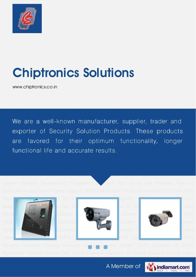 Chiptronics solutions