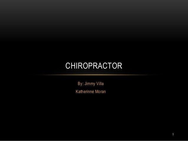 Chiropractor mbgh