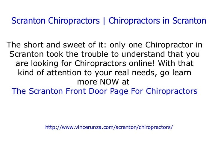 Chiropractor Scranton | Chiropractors in Scranton