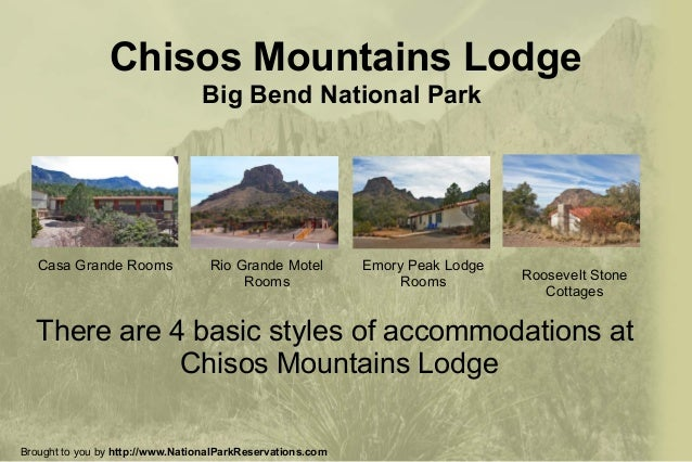Chisos Mountains Lodge | Big Bend National Park